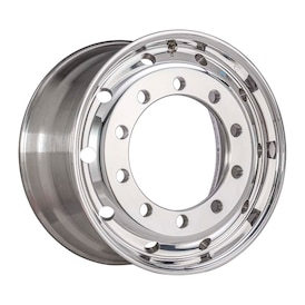 11.75x22.5 XLITE 281-335-10 ET120 POLISHED 32MM